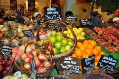 Bangkok, Thailand: Gourmet Supermarket Fruits Royalty Free Stock Images