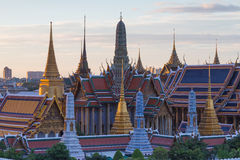 Bangkok Thailand Grand palace. National historic landmark Stock Image