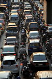 Bangkok, Thailand: Hauptverkehrszeit-Verkehr Lizenzfreie Stockbilder