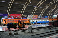 Bangkok, Thailand: Hua Lamphong Railway Station Royalty Free Stock Photos