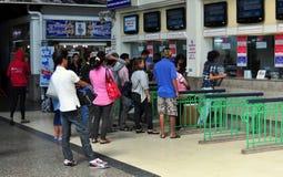 Bangkok, Thailand: Hua Lamphong Railway Station Royalty Free Stock Image