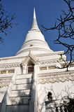 Bangkok, Thailand: Imposing Temple Chedi Royalty Free Stock Photos