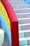Bangkok in thailand incision of stairs Stock Image