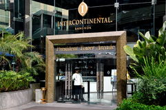 Bangkok, Thailand: Intercontinental Hotel Stock Photo