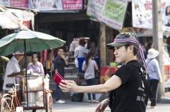 Bangkok Thailand - Jan19, 2014 Arkivfoto