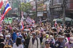 Bangkok Thailand - Jan19, 2014 Arkivbilder