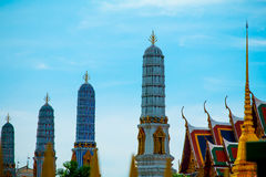Bangkok, Thailand am 22. Januar, Palast 2560Grand und Wat-phra keaw Lizenzfreies Stockfoto