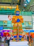 Bangkok, Thailand - Januar, 31, 2010: Suvarnabhumi-Flughafen Stockfoto