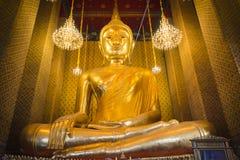 Bangkok Thailand - Januari 02, 2016: Wat Kalayanamitr har Arkivbild
