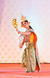 BANGKOK, THAILAND - JANUARY 15: Thai Traditional Dress. actors p Stock Photography