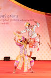 BANGKOK, THAILAND - JANUARY 15: Thai Traditional Dress. actors p Royalty Free Stock Images