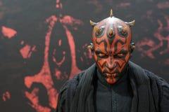Bangkok Thailand - January 11, 2020: Action figure model Darth Maul from Star Wars movie