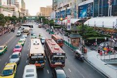 Traffic jams in Bangkok, Thailand Royalty Free Stock Image