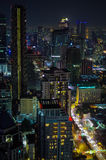Bangkok, Thailand - January 5, 2013: Bangkok Cityscape, Business Stock Photos