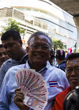 Bangkok, Thailand – January 30:PDRC leader Suthep Thaugsuban Royalty Free Stock Photo