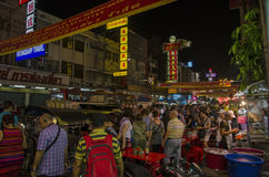 Bangkok, Thailand - 31 January 2015 : People come to shopping Stock Images