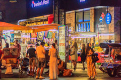 Bangkok, Thailand - January 29, 2017: Tourist visited Patpong, i Stock Photo