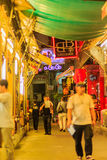 Bangkok, Thailand - January 29, 2017: Tourist visited Patpong, i Royalty Free Stock Photography