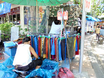 Bangkok-Thailand:  JJ  Market ,weekend market for everyone from  around the world. Royalty Free Stock Image