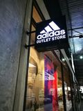 Adidas Factory Outlet Royalty Free Stock Photography