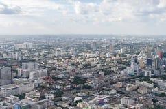 BANGKOK THAILAND - JULI 13: Bästa sikt av högst b Arkivfoto