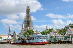 BANGKOK, THAILAND 7. Juli 2017, Boot, Transportservice an b Lizenzfreie Stockbilder