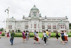 BANGKOK, THAILAND - 21. Juli 2015: Menge von Touristen im Anant Lizenzfreies Stockfoto