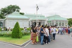BANGKOK, THAILAND - 21 Juli, 2015: Menigte van toeristen in Anant Stock Fotografie