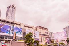 Bangkok, Thailand - July 11, 2017: Central world shopping mall,. Bangkok, Thailand - July 11, 2017 : Central world shopping mall, landmark of Bangkok Stock Images