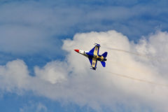 BANGKOK, THAILAND - JULY 02: F-16 of Royal Thai air force show festival Royalty Free Stock Image