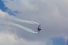 BANGKOK, THAILAND - JULY 02: F-16 of Royal Thai air force show festival Royalty Free Stock Images