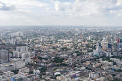 BANGKOK, THAILAND - JULY 13: Top view of highest b Stock Photo