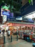 A street in Bangkok. royalty free stock images
