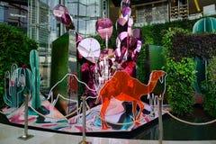 Paragon shopping mall in Bangkok, Thailand Royalty Free Stock Image