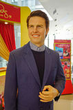 A waxwork of Tom Cruise at the Madam Tussauds Royalty Free Stock Photography
