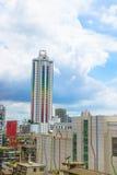 Bangkok, Thailand - June 3, 2017: Baiyoke Tower I with a cloudy Royalty Free Stock Photo