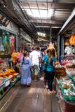 Local market in Bangkok. stock photography