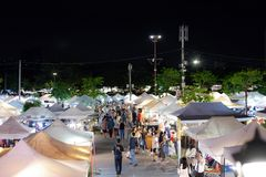 JJ Green Night Market might just be the coolest place to shop in Bangkok stock photo