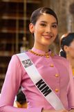 Miss Universe Thailand 2019, visit tour camping stock photos