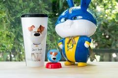 "Illuminations The Secret Life of pets 2 MOVIE SNOWBALL Plush Doll Soft Toys 8/"""