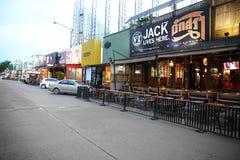 BANGKOK, THAILAND - JUNE 28: View of Royal City Avenue or RCA  o Stock Photography