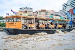 BANGKOK, Thailand-30 Juni 2017, Boot, de vervoersdienst  Royalty-vrije Stock Foto's