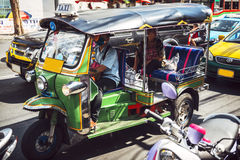 BANGKOK, THAILAND - 18. JUNI 2015: Buntes Beispiel des ubiqu Stockbild