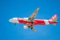 BANGKOK, THAILAND - 1. JUNI 2015: HS-BBG Airbus A320-216 von thailändischem Stockbild