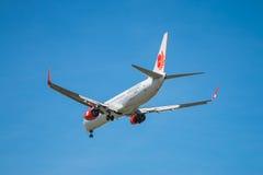 BANGKOK THAILAND - JUNI 1, 2015: HS-LTK thailändska Lion Air Boeing 73 Royaltyfria Bilder