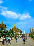 Bangkok Thailand - Juni 30, 2008: Slotten av konungen Royaltyfria Foton