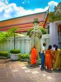 Bangkok Thailand - Juni 30, 2008: Slotten av konungen Arkivbild