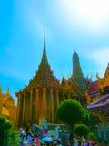 Bangkok Thailand - Juni 30, 2008: Slotten av konungen Arkivbilder