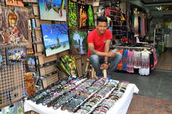 Bangkok, Thailand: Khao San Rd Vendor Royalty Free Stock Photo