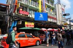 Bangkok, Thailand:  Khao San Road Royalty Free Stock Image
